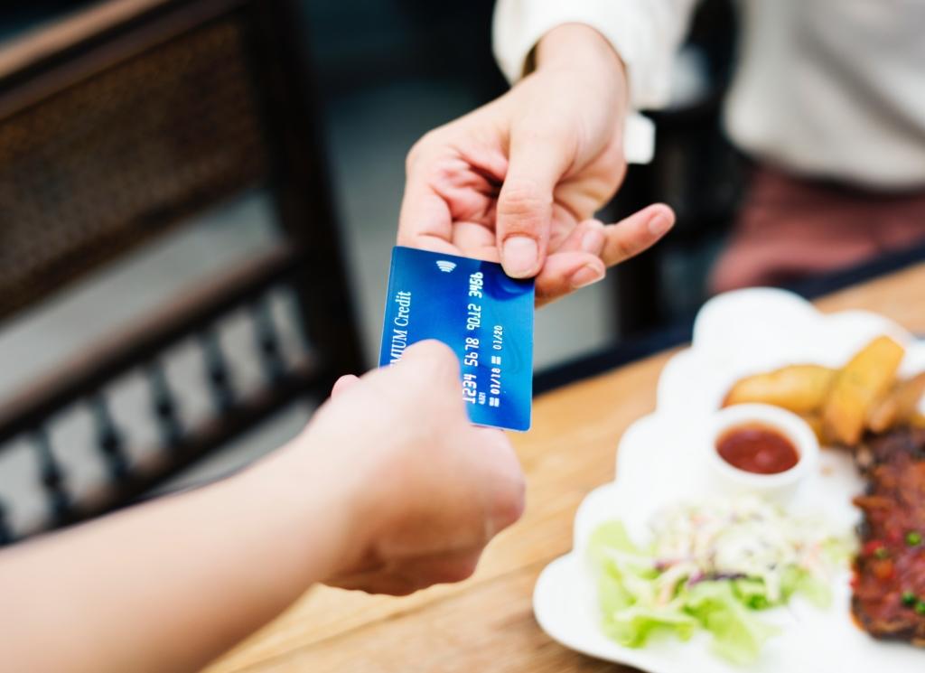 クレジットカード,お渡し