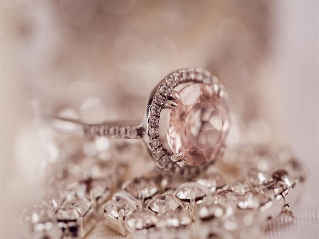 ダイヤモンドはプラチナと相性が良い