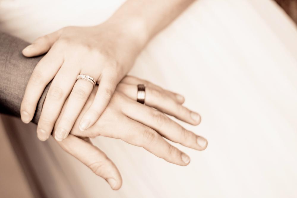 結婚指輪,手作り