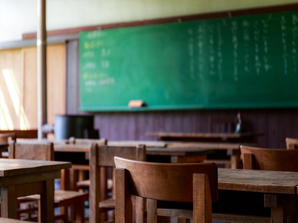 学校,黒板