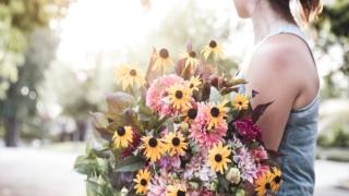 女性,花,想い