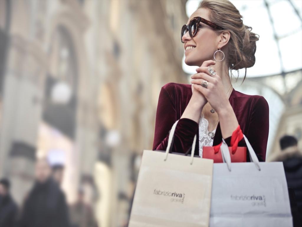 女性,買い物,ショッピング