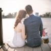 結婚式,水辺,ウェディング