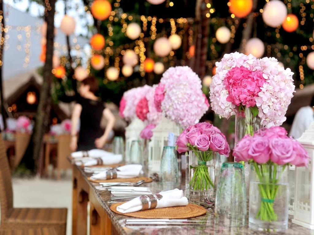 結婚式,フラワー,ピンク,ホワイト