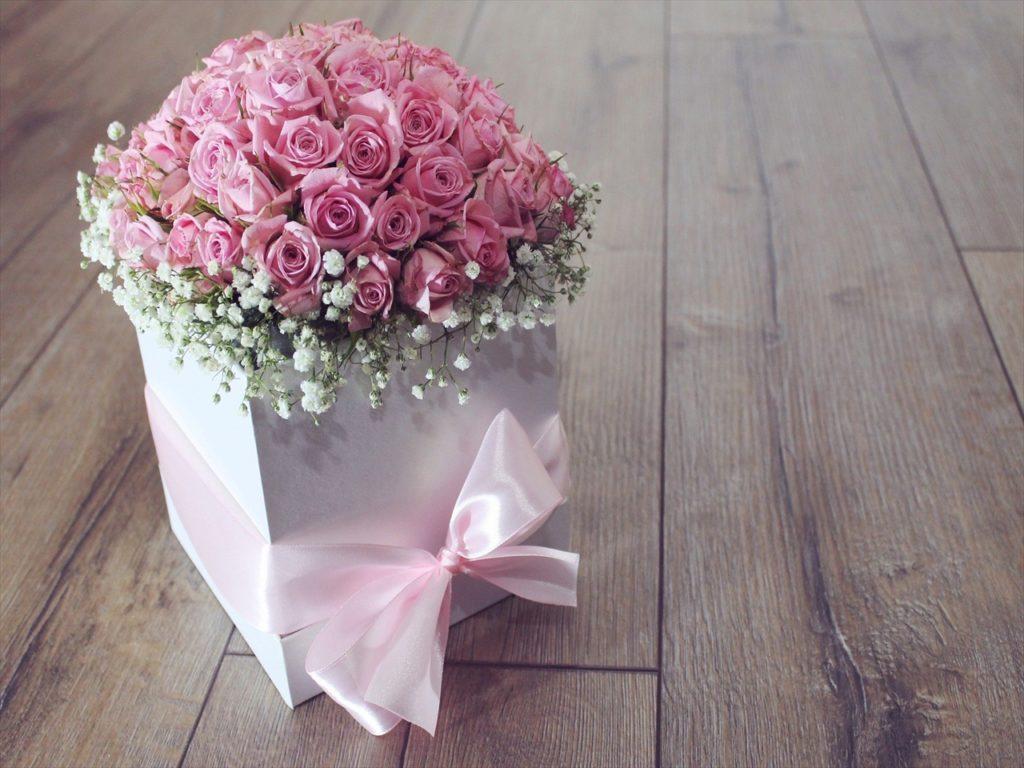 ピンクローズ,花,かわいい