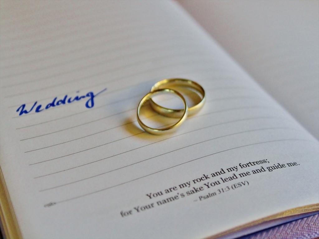 結婚指輪,ゴールド