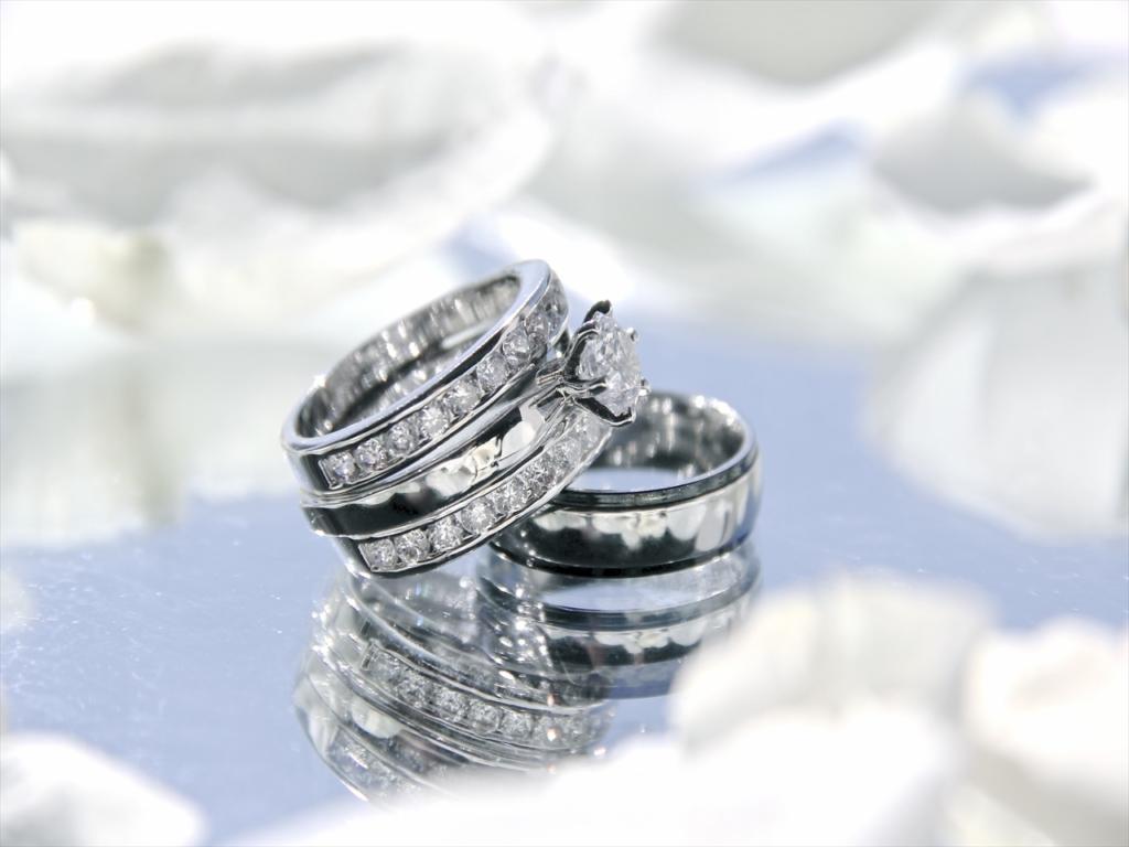 結婚指輪,ダイヤモンド