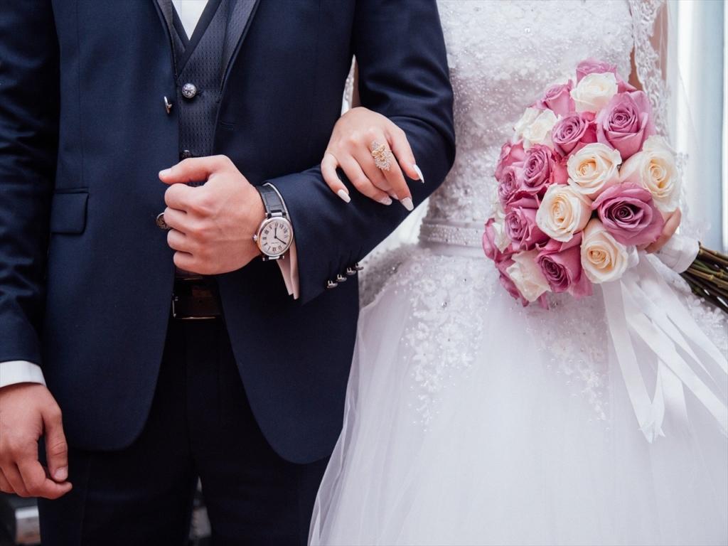結婚指輪,結婚式